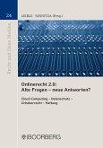 Onlinerecht 2.0 Alte Fragen - neue Antworten?