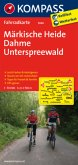 Kompass Fahrradkarte Märkische Heide, Dahme, Unterspreewald / Kompass Fahrradkarten