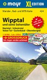 Mayr Karte Wipptal und seine Seitentäler