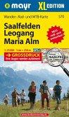 Mayr Karte Saalfelden, Leogang, Maria Alm