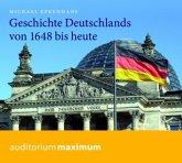 Geschichte Deutschlands von 1648 bis heute, 2 Audio-CDs