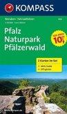 Kompass Karte Pfalz, Naturpark Pfälzerwald, 2 Bl.