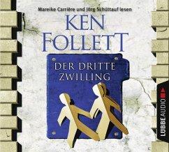 Der dritte Zwilling, 4 Audio-CDs - Follett, Ken