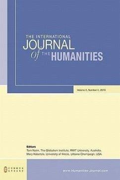 The International Journal of the Humanities: Volume 8, Number 4 - Herausgeber: Nairn, Tom Kalantzis, Mary