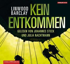 Kein Entkommen, 4 Audio-CDs - Barclay, Linwood