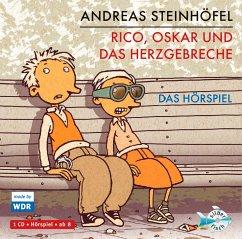 Rico, Oskar und das Herzgebreche / Rico & Oskar Bd.2, 1 Audio-CD - Steinhöfel, Andreas