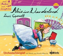 Alice im Wunderland, Audio-CD - Carroll, Lewis