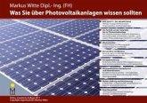 Was Sie über Photovoltaikanlagen wissen sollten