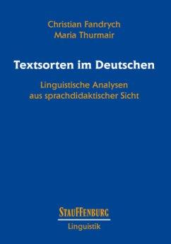 Textsorten im Deutschen