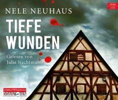 Tiefe Wunden / Oliver von Bodenstein Bd.3 (5 Audio-CDs) - Neuhaus, Nele