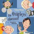 Die Quigleys obenauf / Die Quigleys Bd.3, 2 Audio-CDs