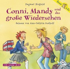 Conni, Mandy und das große Wiedersehen / Conni & Co Bd.6 (2 Audio-CDs) - Hoßfeld, Dagmar