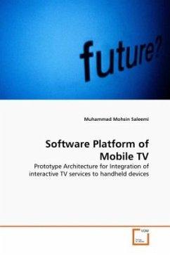 Software Platform of Mobile TV