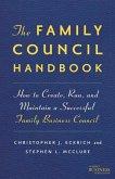 The Family Council Handbook
