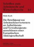 Reform des Aktienrechts durch die Strukturrichtlinie der Europäischen Gemeinschaften