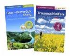 Schöneres Wandern Pocket: SaarHunsrückSteig &amp; Traumschleifen - Start-Set Schöneres Wandern Pocket.<BR>Premium-Wandern auf Deutschlands schönsten Wegen zwischen Saar, Mosel und Rhein. Mit GPS-Daten, Karten, Höhenprofilen und Gürteltasche.