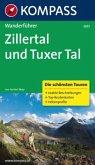 Kompass Wanderführer Zillertal und Tuxer Tal