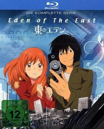 Eden of the East - Die komplette Serie (2 Discs)