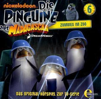 Die Pinguine aus Madagascar - Zombies im Zoo, 1 Audio-CD