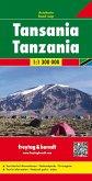 Freytag & Berndt Autokarte Tansania / Tanzania