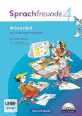 Sprachfreunde 4. Schuljahr. Arbeitsheft mit CD-ROM. Ausgabe Nord