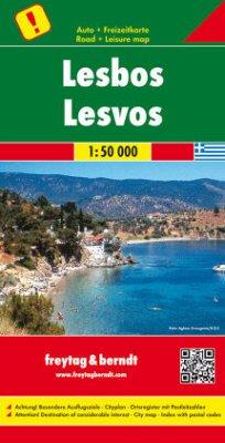 Freytag & Berndt Autokarte Lesbos 1:50.000