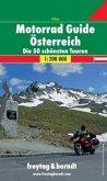 Motorrad Guide Österreich 1 : 200 000