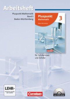 Pluspunkt Mathematik - Baden-Württemberg - Neubearbeitung - Band 3 / Pluspunkt Mathematik, Ausgabe Hauptschule Baden-Württemberg, Neubearbeitung Bd.3 - Merz, Kristina;Merz, Patrick;de Jong, Klaus
