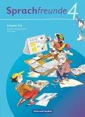 Sprachfreunde 4. Schuljahr. Sprachbuch Ausgabe Süd