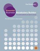 Essential Business Vocabulary Builder. Student's Book
