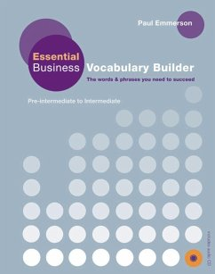 Essential Business Vocabulary Builder. Student's Book - Emmerson, Paul