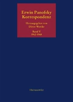 Korrespondenz 1962-1968 / Korrespondenz 1910 bis 1968 Bd.5 - Panofsky, Erwin