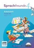 Sprachfreunde 4. Schuljahr. Arbeitsheft mit CD-ROM. Ausgabe Süd