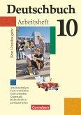 Deutschbuch 10. Schuljahr. Arbeitsheft mit Lösungen