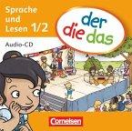 1./2. Schuljahr - Sprache und Lesen, Audio-CD / der die das - Erstlesen