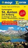 Mayr Karte Ferienregion St. Anton am Arlberg