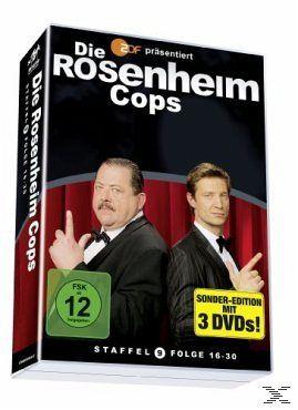 Die Rosenheim-Cops - Staffel 09, Folge 16-30 (3 Discs)