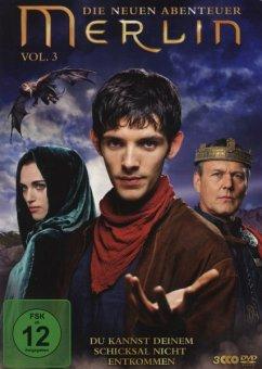 Merlin - Die neuen Abenteuer, Vol. 03 (3 Discs) - Morgan,Colin/Bradley,James/Crook,Mackenzie