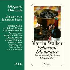 Schwarze Diamanten / Bruno, Chef de police Bd.3 (8 Audio-CDs) - Walker, Martin