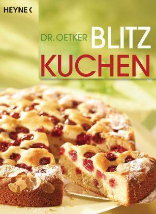 Dr Oetker Blitzkuchen Von Oetker Als Taschenbuch Portofrei Bei
