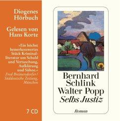 Selbs Justiz, 7 Audio-CDs - Schlink, Bernhard; Popp, Walter