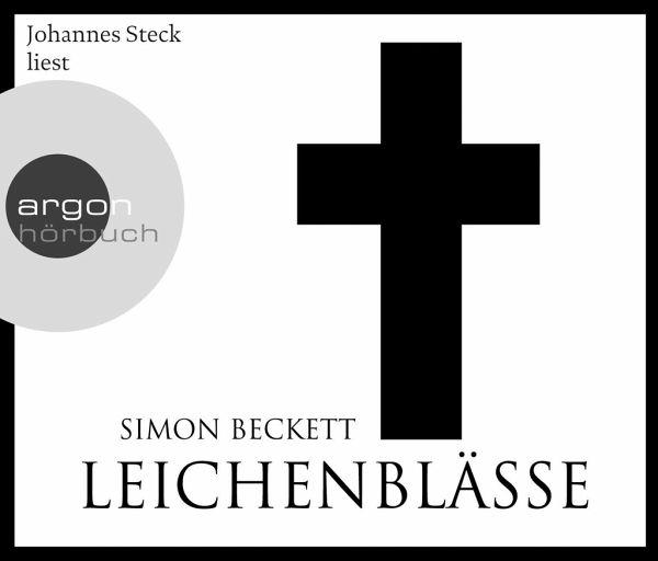 Leichenblässe / David Hunter Bd.3 (Hörbestseller), 6 Audio-CDs - Beckett, Simon