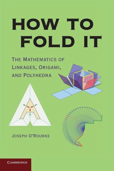 how to fold it von joseph orourke englisches buch