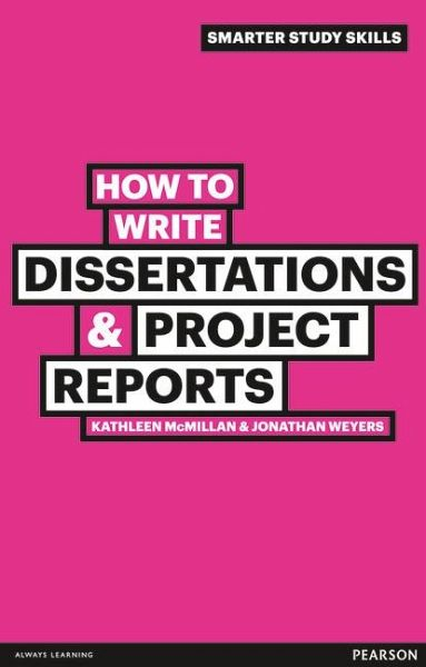 How to write dissertations