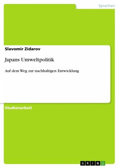 Japans Umweltpolitik - Zidarov, Slavomir