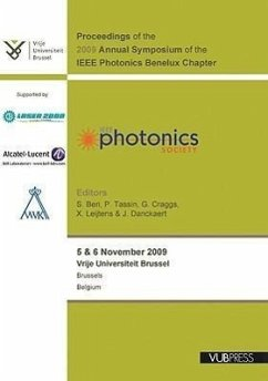 Proceedings of the 2009 Annual Symposium of the IEEE Photonics Benelux Chapter - Herausgeber: Beri, S. Craggs, G. Tassin, P.
