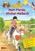 Mein Pferde-Sticker-Malbuch