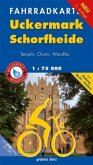 Fahrradkarte Uckermark, Schorfheide