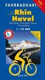 Fahrradkarte Land zwischen Rhin und Havel
