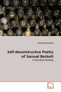 Self-deconstructive Poetry of Samuel Beckett